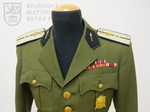 Blůza kapitána železničního vojska, 50. léta 20. století