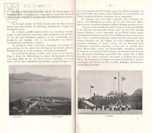 Text a fotografie pevností Suda a Izzeddin.