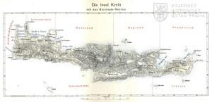 Mapka dislokace pozemních sil velmocí na jaře 1897.