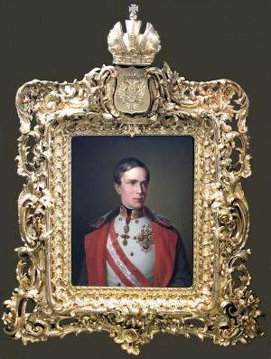 Johann Ransi dle Antona Einsleho: Franišek Josef I., kolem 1851