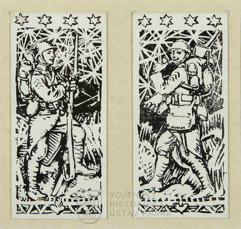 František Kupka, Strážný I a II, 1916