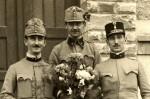 Polní čepice rakousko-uherských vojáků, 1914–1918