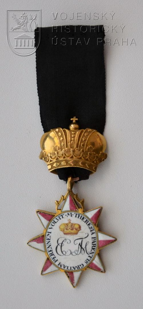 Dekorace Vojenské nadace Alžběty Terezie