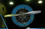 Zkušební běh leteckého motoru M-21
