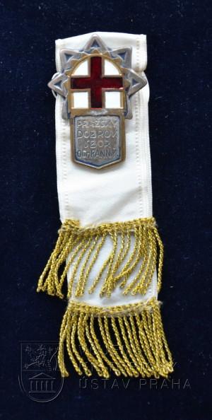 Odznak Pražského dobrovolného sboru ochranného, 2. typ