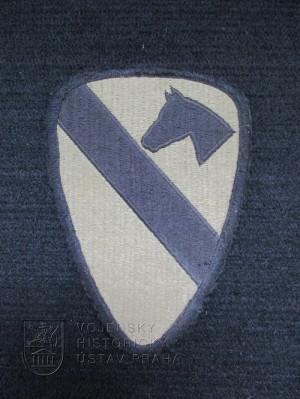 Rukávový znak 1. jezdecké divize USA