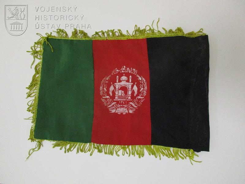 Automobilní vlaječka Afghánské islámské republiky