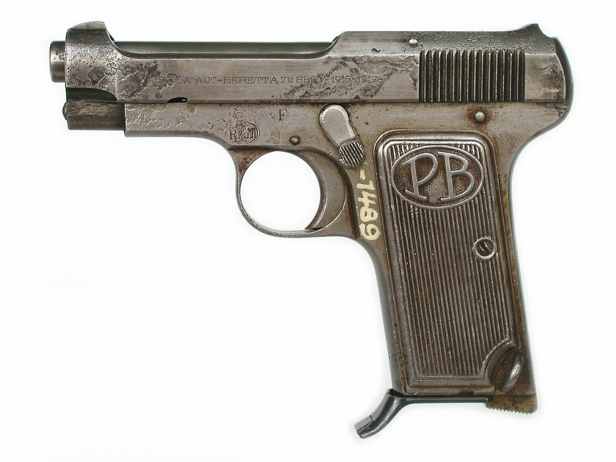 Italská pistole Beretta model 1922