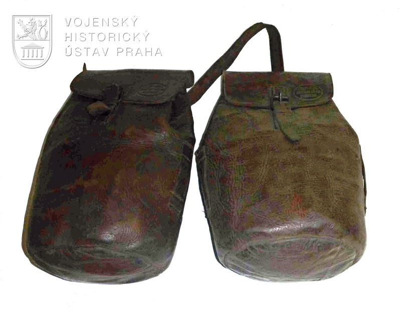 Sedlové brašny, československé legie v Rusku