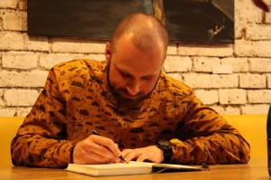 Autogramiáda autora