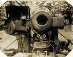 Rakousko-uherský 30,5 cm moždíř vyrobený Škodovými závody