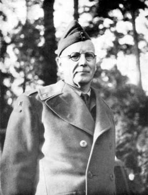 Major Hazard, velitel belgického 17. praporu fyzilírů. Foto sbírka VHÚ