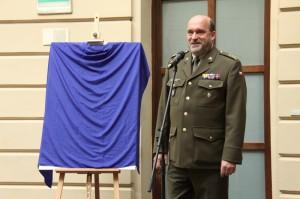 Plukovník Aleš Knížek, ředitel Vojenského historického ústavu Praha
