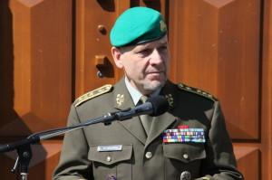První zástupce náčelníka GŠ AČR generálporučík Jiří Baloun