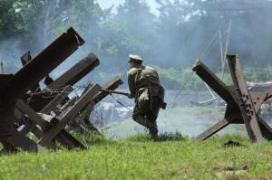 Bojová ukázka, bitva u Zborova