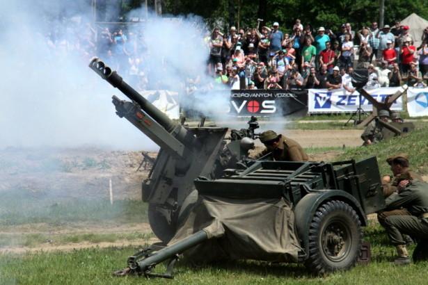 Lešanské dělostřelecké salvy zahájily 22. muzejní sezónu