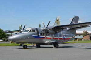 L-410 v barvách jako má již známý vojenský airbus