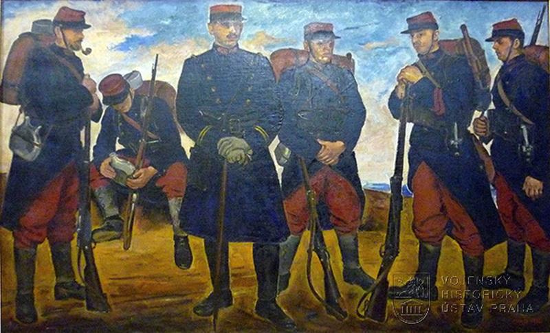 Jaroslav Riedl, Rota Nazdar, 1928