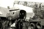 Vyzvednutí části letounu Aero C-3AF