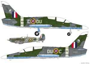 L-159 a Peřinův spitfire