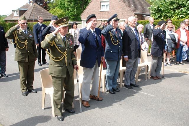 Čeští váleční veteráni. Foto Jindřich Plescher