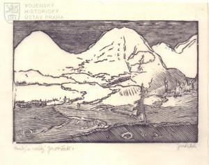 Josef Váchal, Malý a Velký Javoršček, 1919