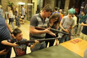 Pražská muzejní noc v Armádním muzeu Žižkov
