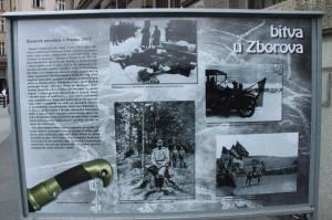 Vernisáž výstavy ke stému výročí bitvy u Zborova