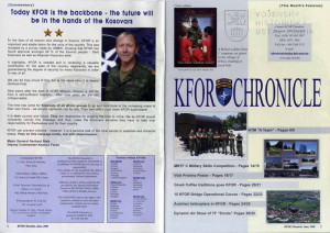 Magazín KFOR CHRONICLE, Kosovská republika 2008