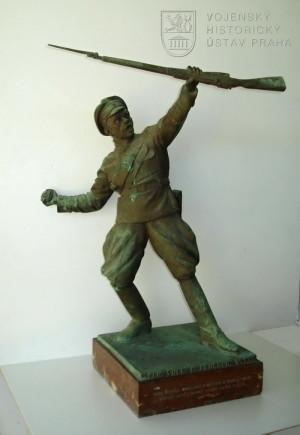 Poručík Jiří Josef Švec u Zborova