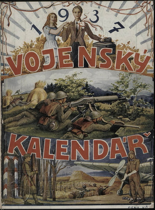 Vojenský kalendář na rok 1937