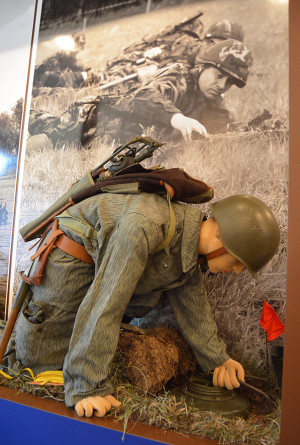 Stálá expozice ženijního vojska u 15. ženijního pluku Bechyně
