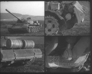 Film Zahlubovací zařízení na tanku T-55A a T-54AM