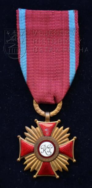 Polský civilní Záslužný kříž, 3. stupeň - bronzový