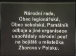 Zborovská pouť 1927 (Desáté výročí Zborova)
