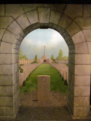 Iluze kanadského vojenského hřbitova ve Francii. FOTO: Ivo Pejčoch