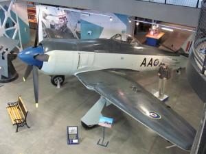 Hawker Sea Fury. FOTO: Ivo Pejčoch