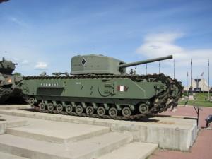 Pěchotní tank Churchill britské výroby. FOTO: Ivo Pejčoch