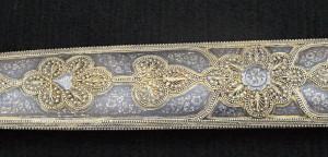 Detail výzdoby vnější strany pochvy.
