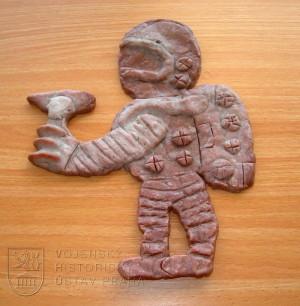 Dětské výtvory věnované kosmonautovi Vladimíru Remkovi