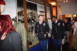 Slavnostní vernisáž - stálá expozice ženijního vojska u 15. ženijního pluku Bechyně.