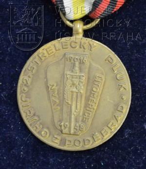 Medaile 2. střeleckého pluku Jiřího z Poděbrad