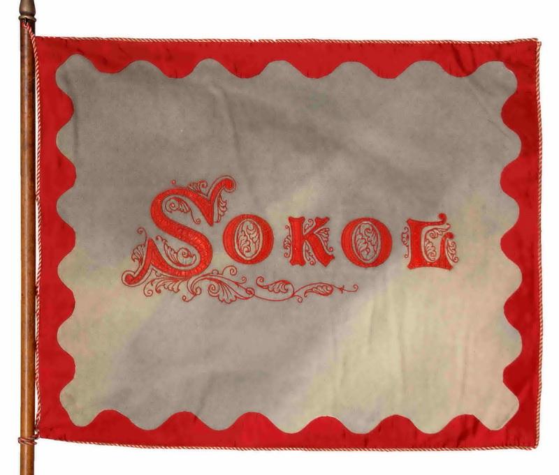 Prapor Sokola Paříž, 1902