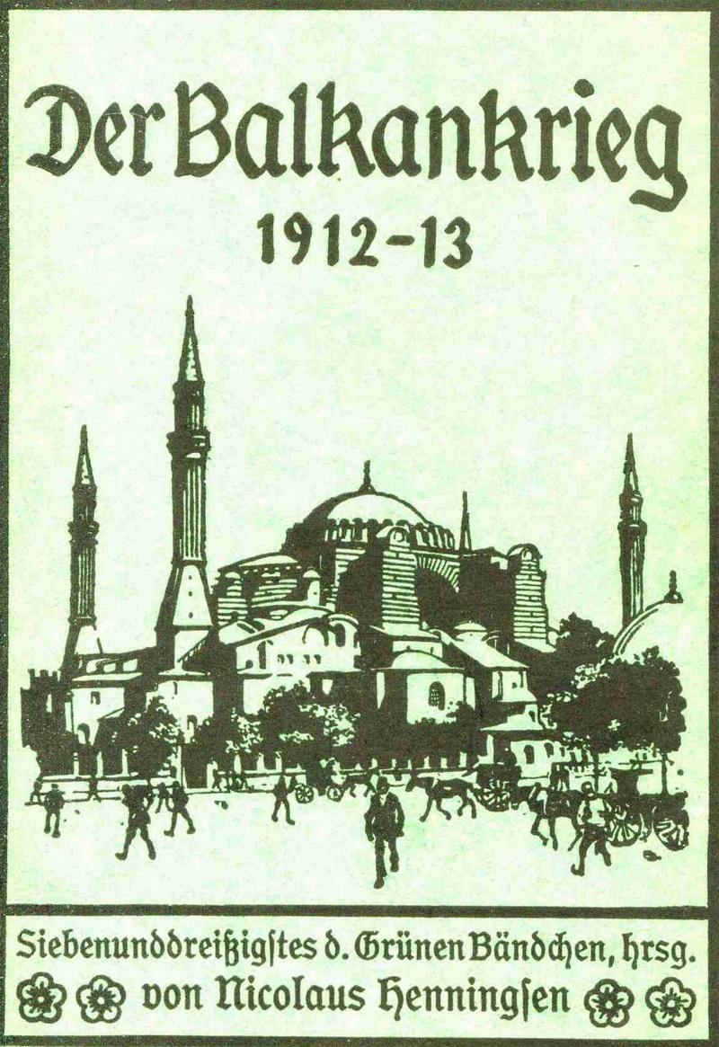 ROSS, Colin. Der Balkankrieg 1912–13