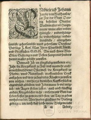 Začátek textu, v němž autor představuje sebe a své dílo.