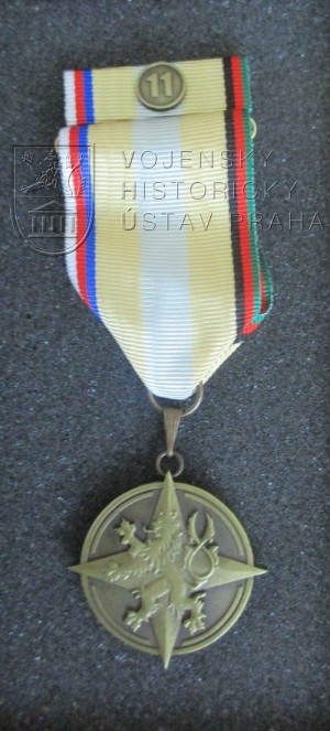 Pamětní odznak 11. úkolového uskupení AČR RS, 2017