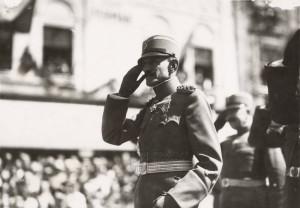 Závěrečných cvičení na Hané se v srpnu 1929 zúčastnil též náčelník Generálního štábu jugoslávské armády gen. Milovanovič. FOTO: VHÚ