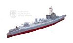 """Model československé hlídkové lodi """"Prezident Masaryk"""""""