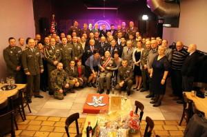 Společné foto z oslavy 95. narozenin Jaroslava Klemeše, leden 2017
