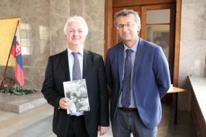 Autoři: Ivo Pejčoch (vlevo) a Prokop Tomek